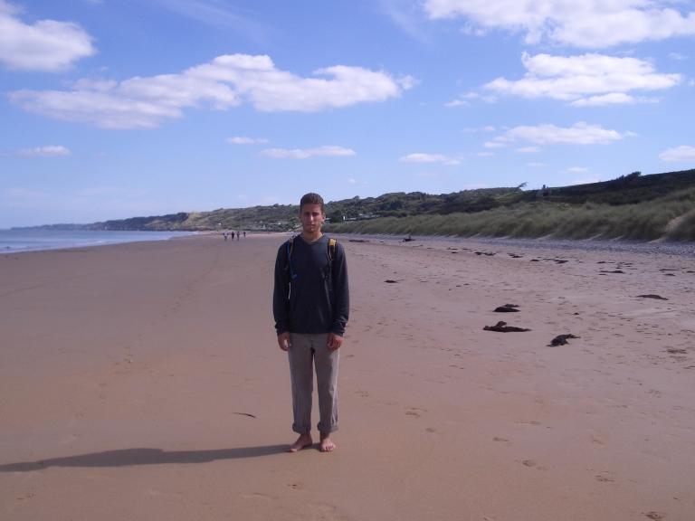 Me on Normandy Beach.jpg