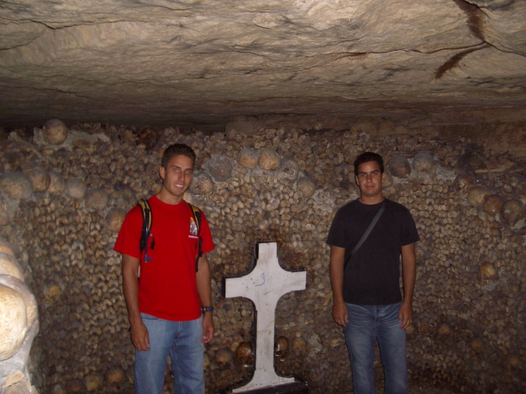 Billy and Me Paris Catacombs
