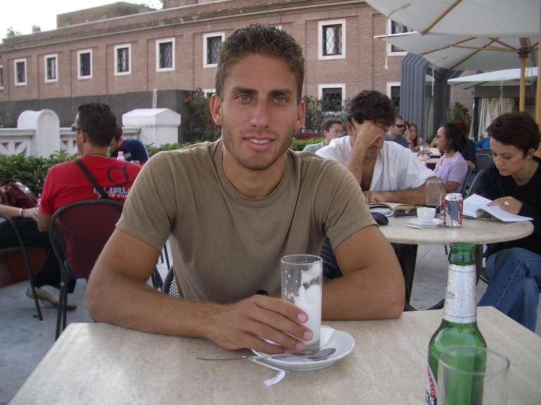 Me on rome military acadamy.jpg