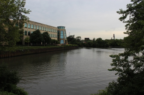 The Mars Building and North Side of the River
